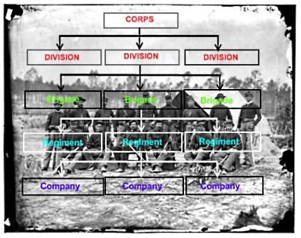 Civil War Army Organization